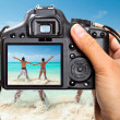 Caribbean Sea vacations — Stock Photo