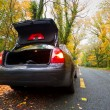 Stock Photo: Car brake down