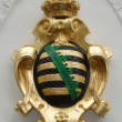 Coat of arms of Saxony — Foto de Stock