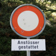 Swiss traffic signs — Stock Photo #7663549