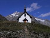 Kaplica belalp, szwajcaria — Zdjęcie stockowe