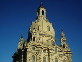 圣母教堂德累斯顿 — 图库照片