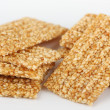Sesame brittles — Stock Photo
