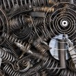 Stock Photo: Springs and coils