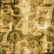 Numbers over Grunge Background — Stock Photo #6965112