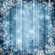 Abstract background with snowflake — Stock Photo