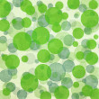 Green  bokeh seamless background pattern — Stock Photo