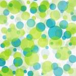 Green and blue bokeh seamless background pattern — Stock Photo #7222803