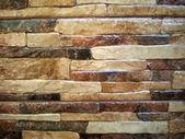 Beautiful, colorful stone wall — Stock Photo