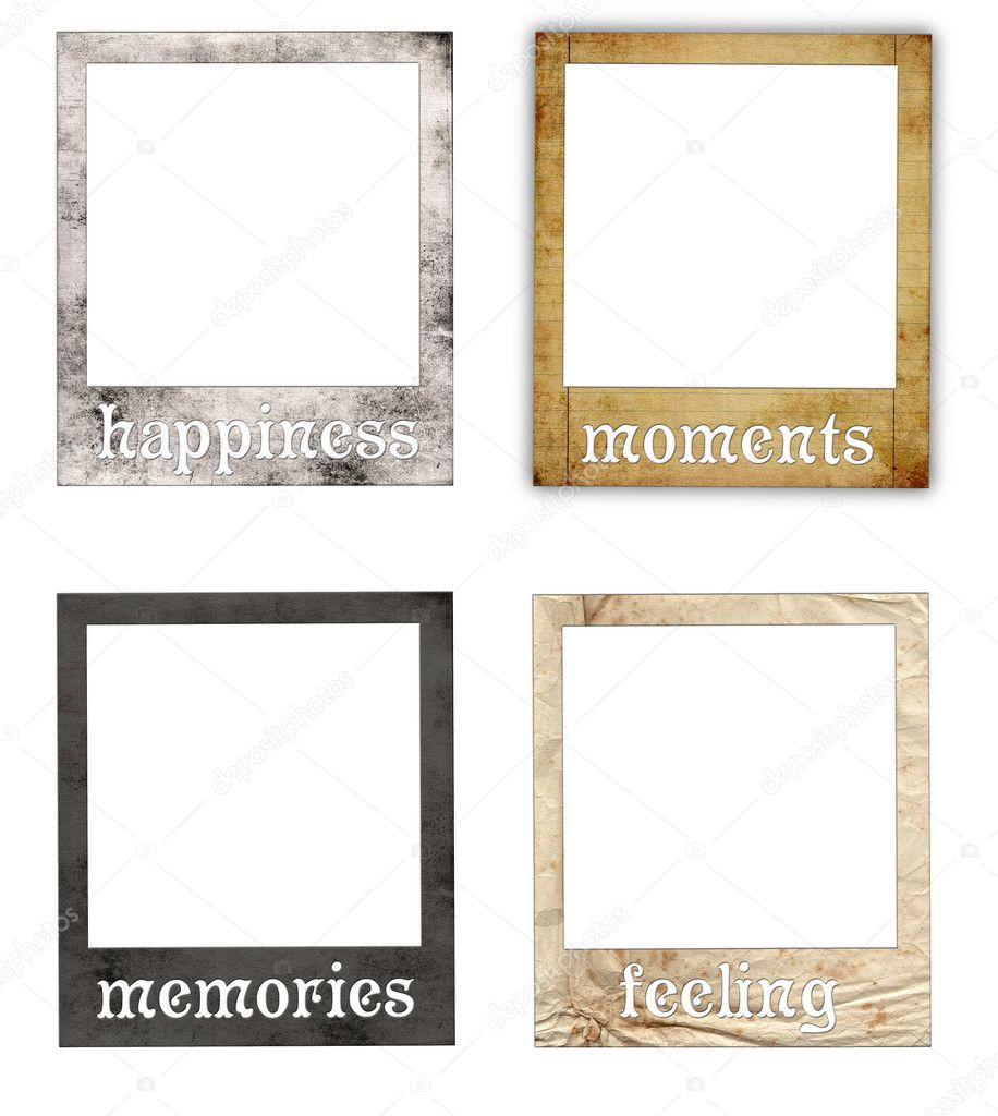 Polaroid Frame Template 726291 Hitori49fo