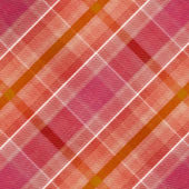 Red, orange and white plaid pattern background — Stock Photo