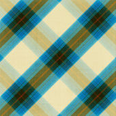 Blue and beige plaid pattern background — Stock Photo