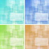 Colorful background set — Stock Photo