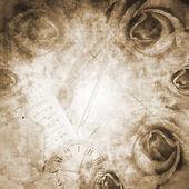Grunge Beautiful Roses Background ( 1 of set) — Fotografia Stock