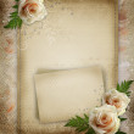 Vintage beautiful wedding background — Stock Photo