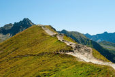 Nationaalpark Tatra mountains in zakopane — Stockfoto