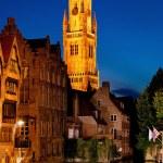 Night Brugge — Stock Photo