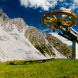 Stock Photo: Alpine mountains