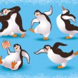 Penguins — Stock Vector #6779552