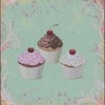 Cupcakes — Stock Vector #7117944