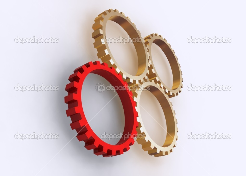 Gears concept — Stock Photo #7158573