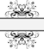 Dekorativ retro ram för design — Stockvektor