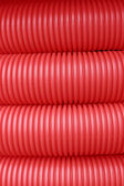 Rep plastic pipe — Stock Photo