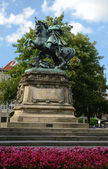 Monument of Jan III Sobieski - side view — Stock Photo