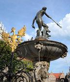 Gdansk's Neptune monument — Foto de Stock