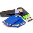 Flash drives — Stock Photo