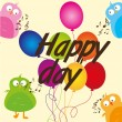Royalty-Free Stock Vector Image: Happy day