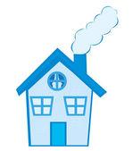 房子卡通 — 图库矢量图片