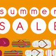Summer sale — Stock vektor