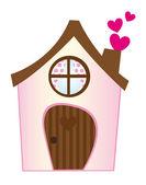 甜蜜的家 — 图库矢量图片
