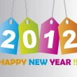 2012 new year — Stock Vector #7426377