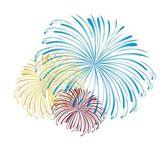 Fireworks vector — Stock Vector