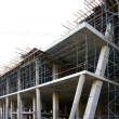 Modern Concrete Building Construction — Stock Photo