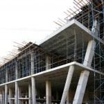 Modern Concrete Building Construction — Stock Photo