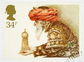 Christmas Postage Stamp — Stock Photo