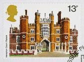 British Historic Buidlings Postage Stamp — Stock Photo