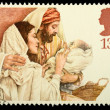Christmas Postage Stamp — Stock Photo #7365531