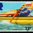 British Sporting Postage Stamp — Stock Photo