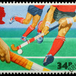 Royalty-Free Stock Photo: British Sporting Postage Stamp