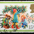 Christmas Postage Stamp — Stock Photo #7456668