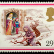 Christmas Postage Stamp — Stock Photo #7456679