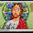 Christmas Postage Stamp — 图库照片