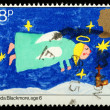 Christmas Postage Stamp — Stock Photo #7456699