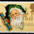 Royalty-Free Stock Photo: Christmas Postage Stamp