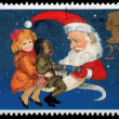 Christmas Postage Stamp — Stock Photo #7456723
