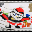 Christmas Postage Stamp — Stock Photo #7456732